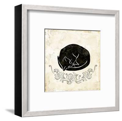 Sleeping Cat-Alan Hopfensperger-Framed Art Print