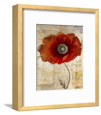 Red Masterpiece II-Louise Montillio-Framed Art Print