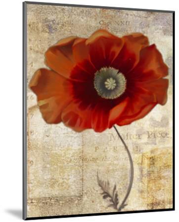 Red Masterpiece II-Louise Montillio-Mounted Art Print