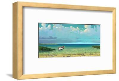 Schooner Island-Rick Novak-Framed Art Print