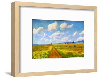 Rod to Sky-Chris Vest-Framed Art Print