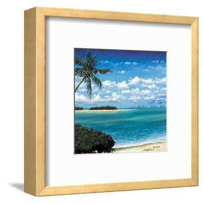Torch key-Rick Novak-Framed Art Print