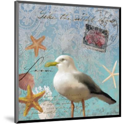 Gull Beach II-Rick Novak-Mounted Art Print