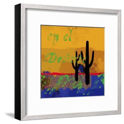 Southwestern Duel-Parker Greenfield-Framed Art Print