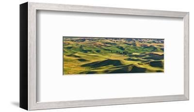 La Palouse Panorama-Richard Desmarais-Framed Art Print