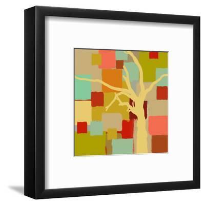 Yellow Tree I-Yashna-Framed Art Print