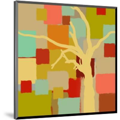Yellow Tree I-Yashna-Mounted Art Print
