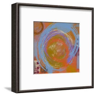 Connections II-Yashna-Framed Art Print