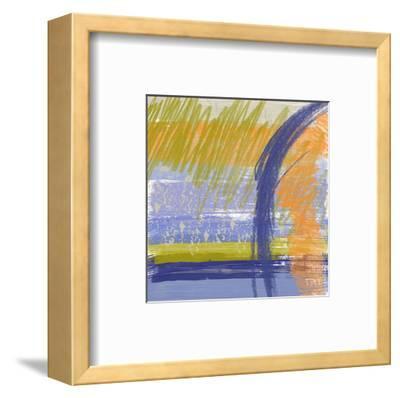Symphony in Purple II-Yashna-Framed Art Print