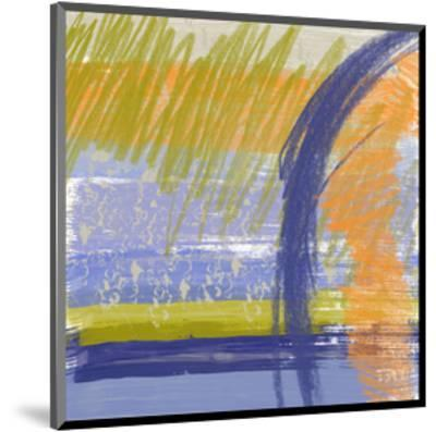 Symphony in Purple II-Yashna-Mounted Art Print