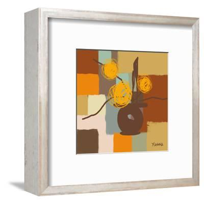Seasons I-Yashna-Framed Art Print