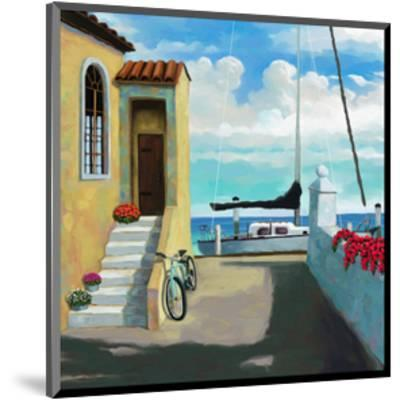 Seaside Steps-Kurt Novak-Mounted Art Print