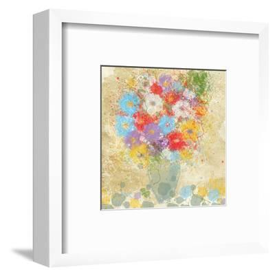 Bright Flowers II-Irena Orlov-Framed Art Print