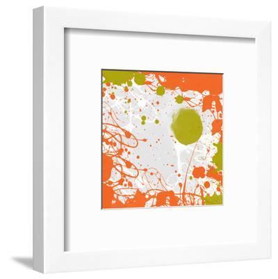 Green Orange Garden I-Irena Orlov-Framed Art Print
