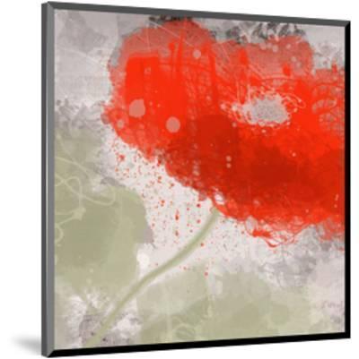 Deep Red-Irena Orlov-Mounted Art Print