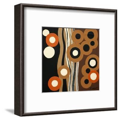 Magnetism II-Irena Orlov-Framed Art Print