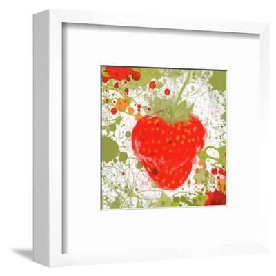 Strawberry II-Irena Orlov-Framed Art Print