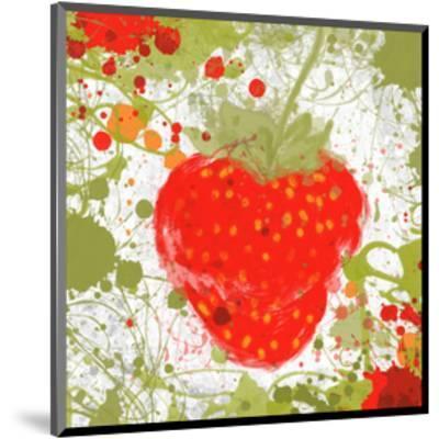 Strawberry II-Irena Orlov-Mounted Art Print