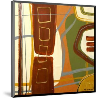 Simplicity I-Irena Orlov-Mounted Art Print