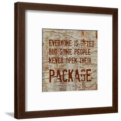 Everyone is Gifted-Irena Orlov-Framed Art Print