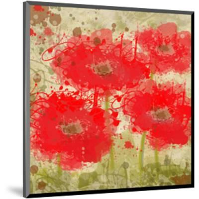 Red Poppies-Irena Orlov-Mounted Art Print
