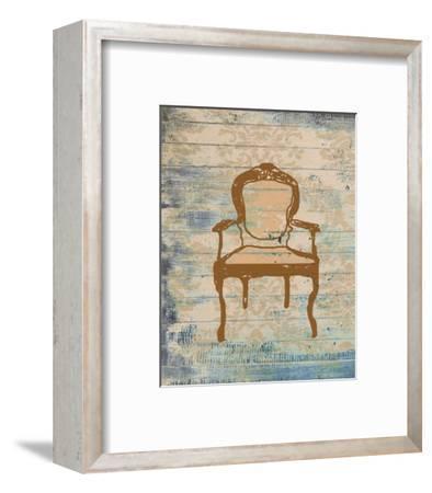 Chair VI-Irena Orlov-Framed Art Print