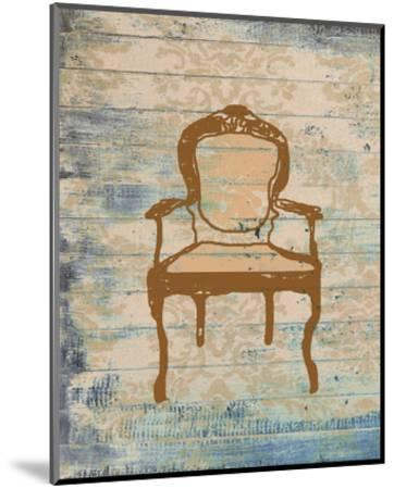Chair VI-Irena Orlov-Mounted Art Print