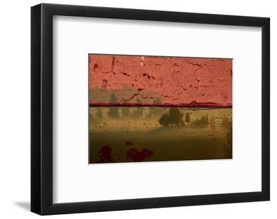 Landscape on Wood II-Irena Orlov-Framed Art Print