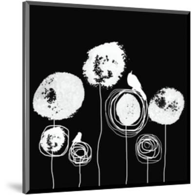 Black and White II-Irena Orlov-Mounted Art Print