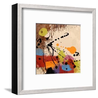 Cross Roads II-Yashna-Framed Art Print