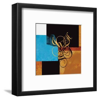 Little Conversations #218A-Rachel Travis-Framed Art Print