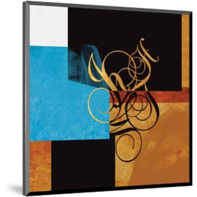 Little Conversations #218A-Rachel Travis-Mounted Art Print