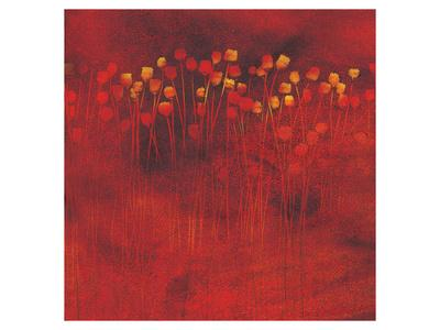 Harrisa Jack Poppies--Framed Art Print