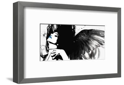 Pearl Necklace-Rosa Mesa-Framed Art Print
