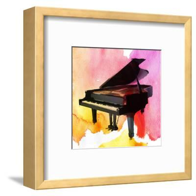 Colorful Piano-Irena Orlov-Framed Art Print