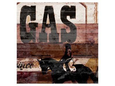 Gas-Irena Orlov-Framed Art Print