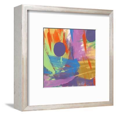 Passionate joy I-Yashna-Framed Art Print