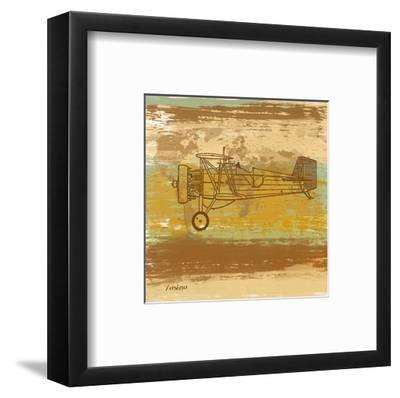 Around the World II-Yashna-Framed Art Print