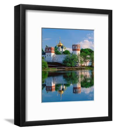 Novodevichy Convent, New Maidens' Convent, Moscow, Russia--Framed Art Print