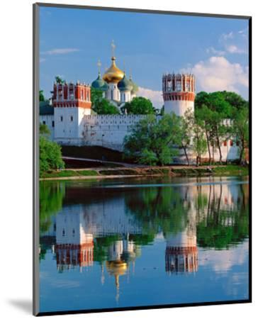 Novodevichy Convent, New Maidens' Convent, Moscow, Russia--Mounted Art Print