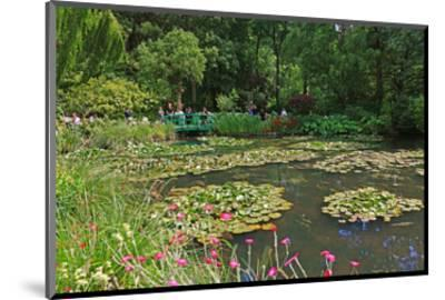 Claude Monet's Water Garden in Giverny, Department of Eure, Upper Normandy, France--Mounted Art Print