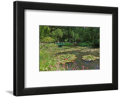 Claude Monet's Water Garden in Giverny, Department of Eure, Upper Normandy, France--Framed Art Print