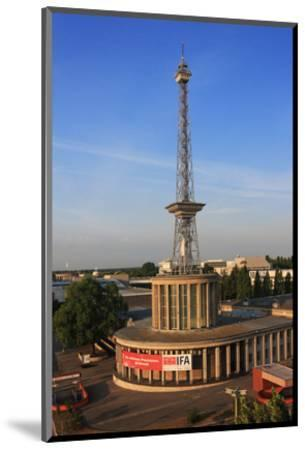 Radio Tower called Langer Lulatsch, meaning Lanky Lad, on the Exhibition Grounds in Berlin, Germany--Mounted Art Print