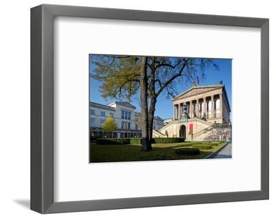 Old National Gallery, Alte Nationalgalerie, Museum Island, Berlin, Germany--Framed Art Print