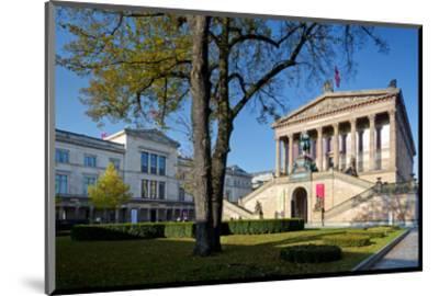 Old National Gallery, Alte Nationalgalerie, Museum Island, Berlin, Germany--Mounted Art Print