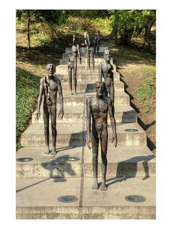 Victims of Communism Memorial, Prague, Central Bohemia, Czech Republic--Framed Art Print