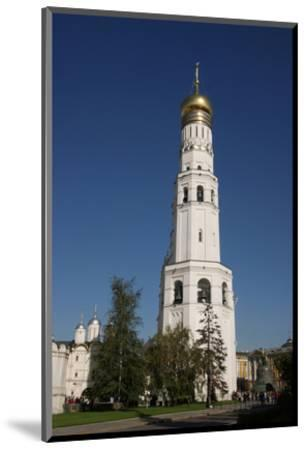 Ivan the Great Bell Tower at the Cathedral Square on the grounds of the Moscow Kremlin--Mounted Art Print