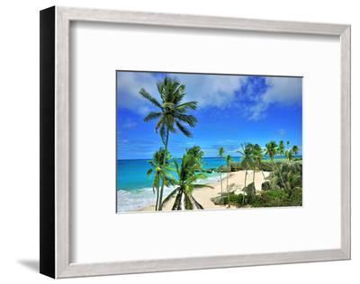 Beach at Bottom Bay, St. Philip, Barbados, Caribbean--Framed Art Print