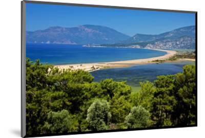Turtle Beach Iztuzu Plaji near Dalyan, Lycia, Mugla Province, Turkey--Mounted Art Print