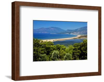 Turtle Beach Iztuzu Plaji near Dalyan, Lycia, Mugla Province, Turkey--Framed Art Print